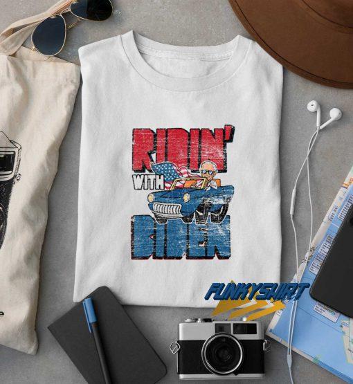 Ridin With Biden Vintage t shirt