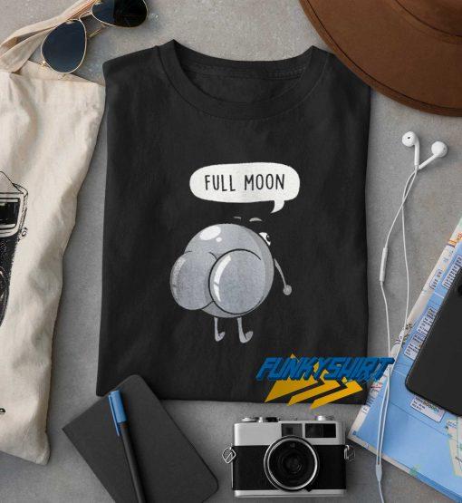 Rude Planet Full Moon t shirt