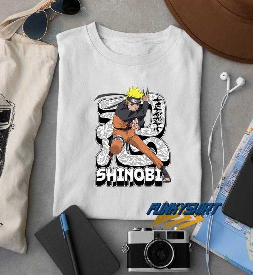 Shinobi Naruto Uzumaki t shirt