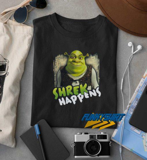 Shrek Happens t shirt