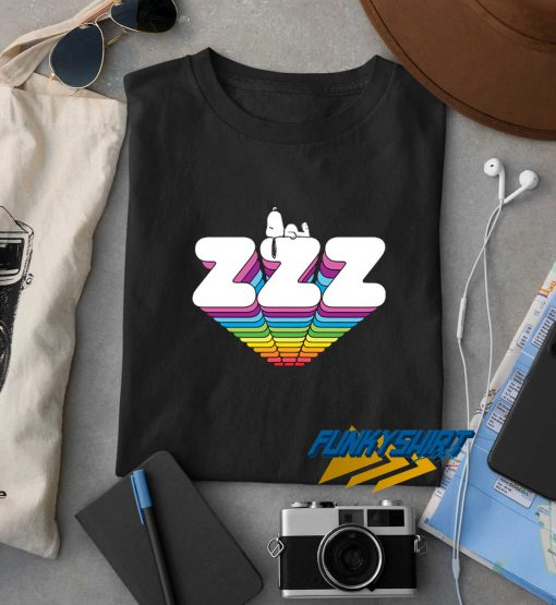 Snoopy Sleeping Zzz t shirt