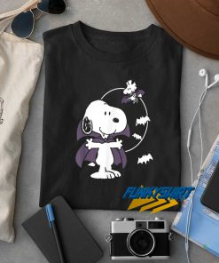 Snoopy Vampire Halloween t shirt