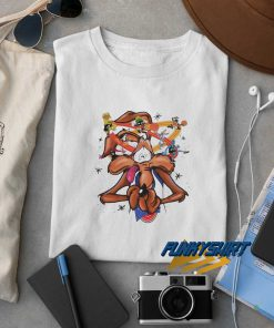 Space Jam Wile E Coyote Looney Tunes t shirt