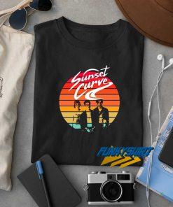Sunset Curve Band Logo t shirt