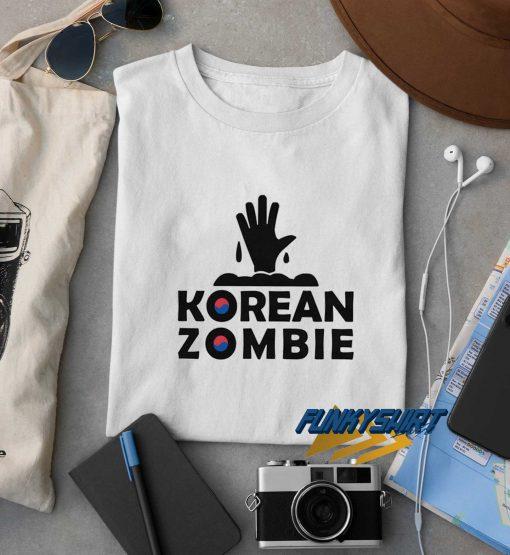 The Korean Zombie t shirt