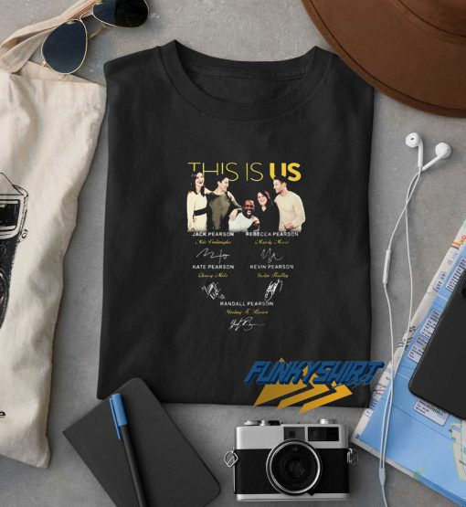 This Is Us All Signatures t shirt