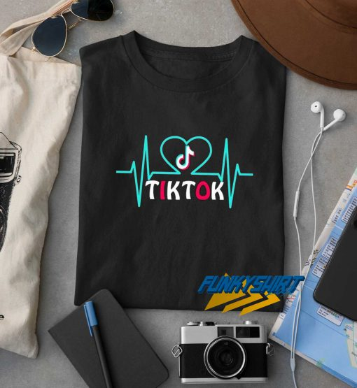 Tik Tok Heart Pulse t shirt