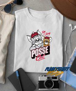 Tom N Jerry Posse Cat t shirt