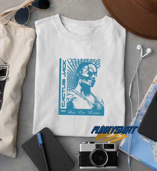 Travis Scott Cactus Jack Fornite t shirt