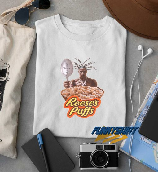 Travis Scott Cactus Jack Reeses Puffs t shirt