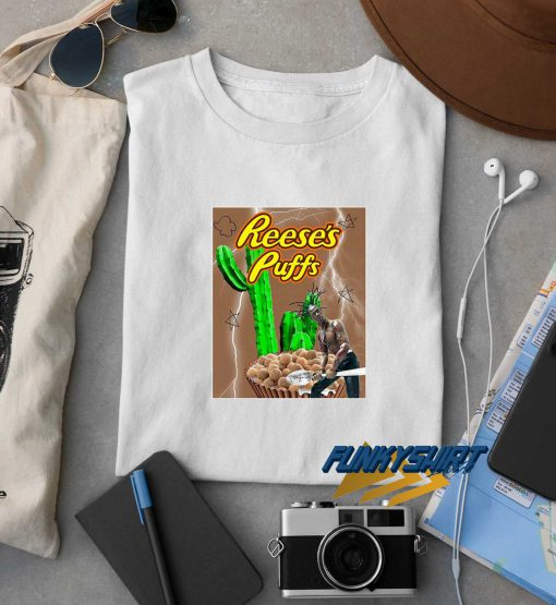 Travis Scott Reeses Puffs Cereal Rodeo t shirt