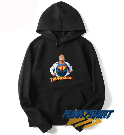 Trump Superman Parody Hoodie