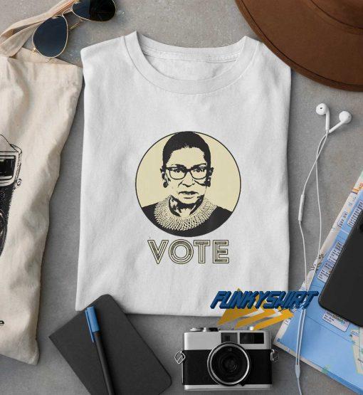 Vintage RBG Vote t shirt