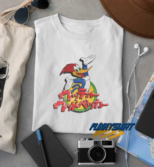 Woody Woodpecker Japan t shirt