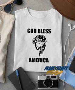 Yesus God Bless America t shirt