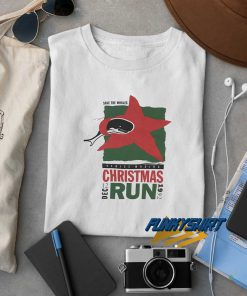 1992 Save The Whales Christmas Run t shirt
