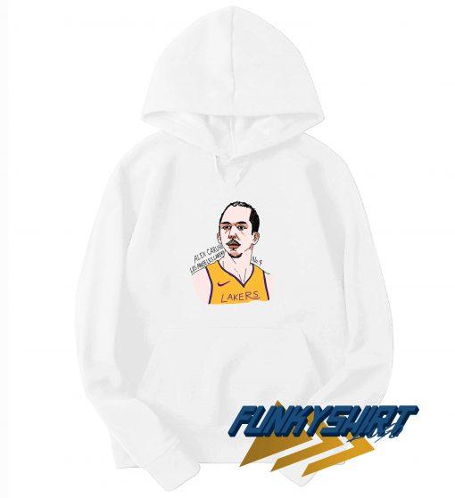 Alex Caruso Los Angeles Lakers Art Hoodie