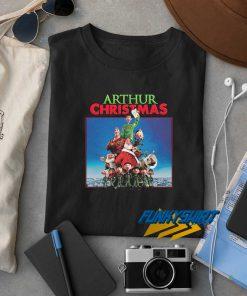 Arthur Christmas Movie Xmas t shirt