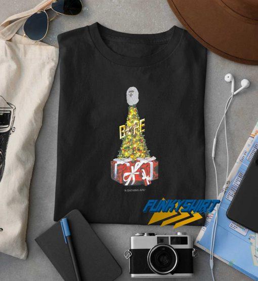 Authentic Bape Christmas t shirt