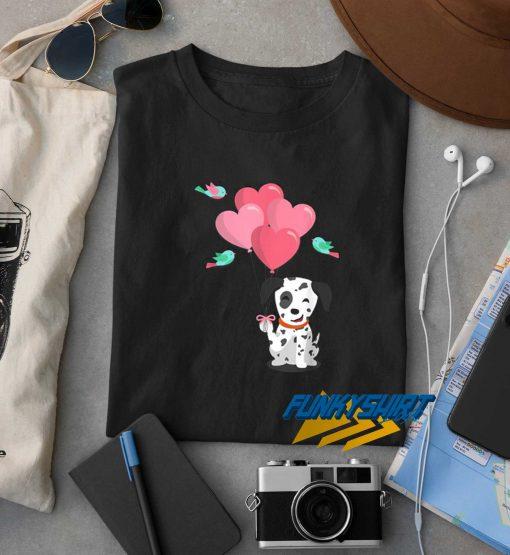Balloon Dalmatian Dog t shirt
