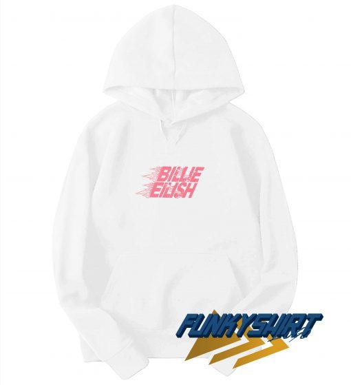Billie Eilish Pink Logo Hoodie