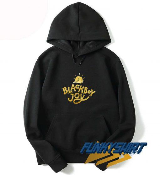 Black Boy Joy 3 Hat Hoodie