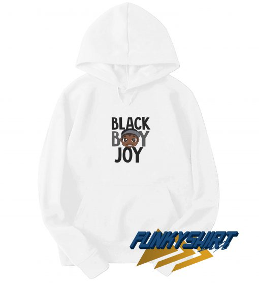 Black Boy Joy Cartoon Hoodie
