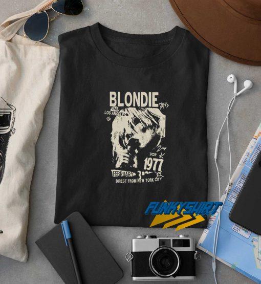 Blondie in Los Angels t shirt