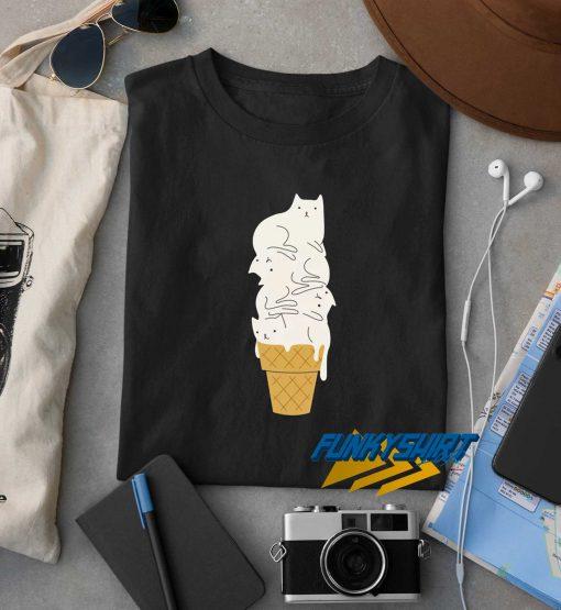 Cats Ice Cream t shirt