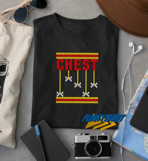 Chestnuts Roasting Chest t shirt