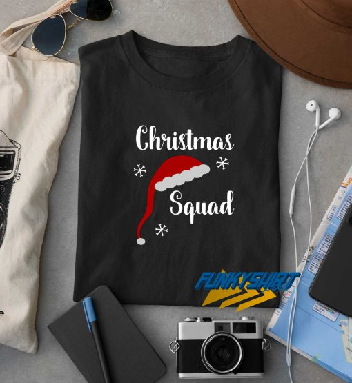 Christmas Squad Hat t shirt