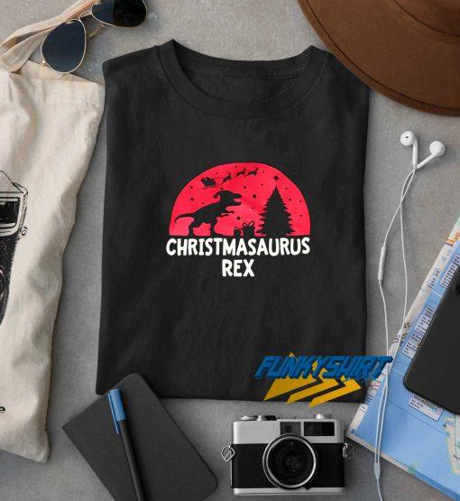 Christmasaurus Rex t shirt