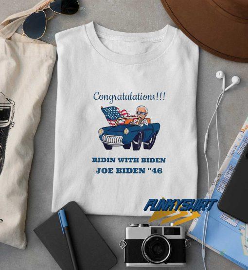 Congratulations Joe Biden 46 t shirt