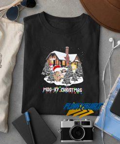 Cow Moo Ry Christmas t shirt