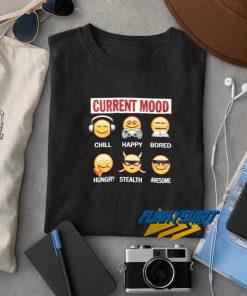 Current Mood Emoji t shirt