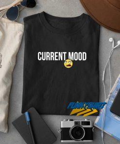 Current Mood Meh Emoji t shirt