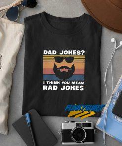 Dad Jokes Retro t shirt