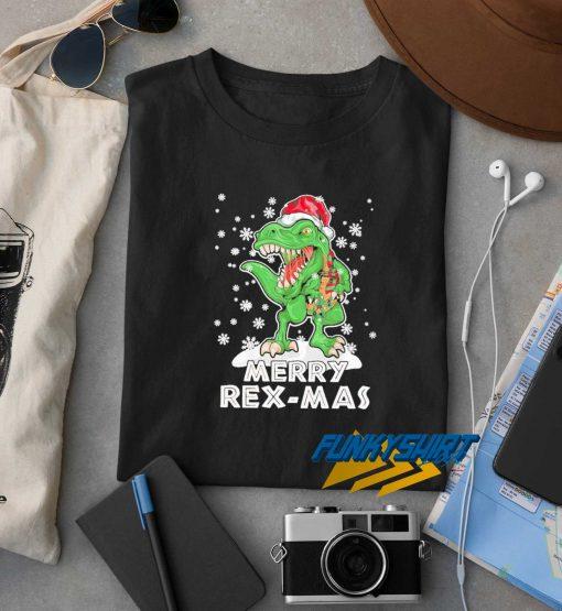Dinosaurs Merry Rexmas Christmas t shirt