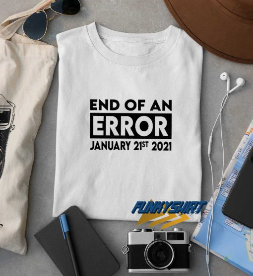 End Of An Error Box t shirt