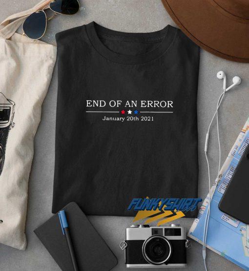 End Of An Error Linen Art t shirt