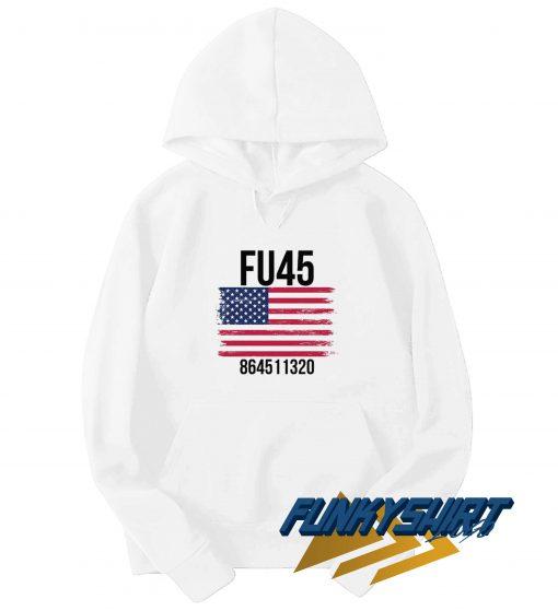 FU45 8645 USA Flag Hoodie