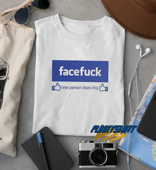 Facefuck Logo t shirt