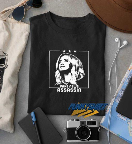 Fake News Assassin t shirt