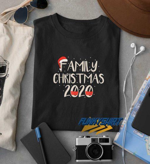 Family Christmas 2020 Santa Hat t shirt