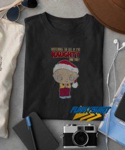 Family Guy Naughty Christmas t shirt