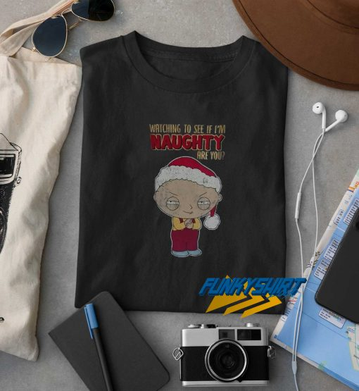 Family Guy Naughty Christmas t shirt