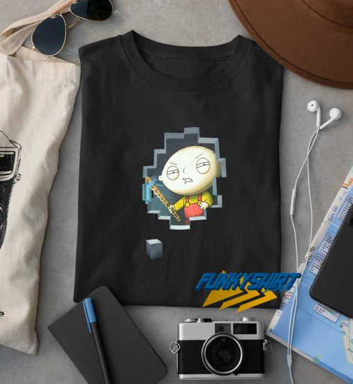 Family Guy Stewie Miner t shirt