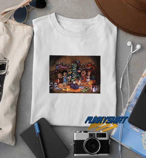 Flinstones Family Christmas t shirt