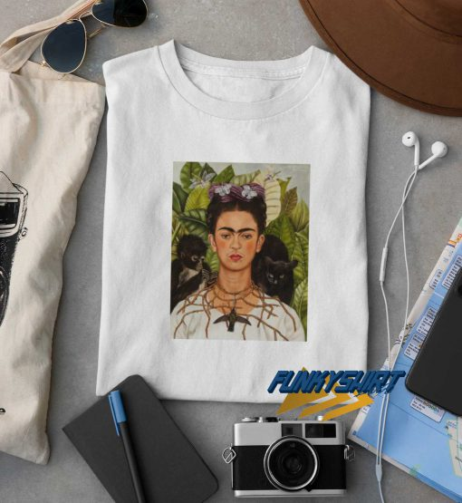 Frida Kahlo Self Portrait t shirt