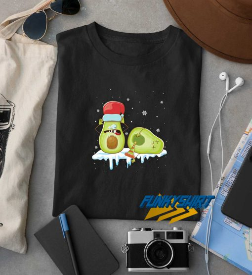 Funny Avocado Christmas t shirt